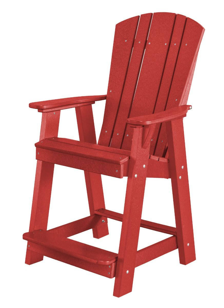 Cardinal Red Oristano Balcony Chair