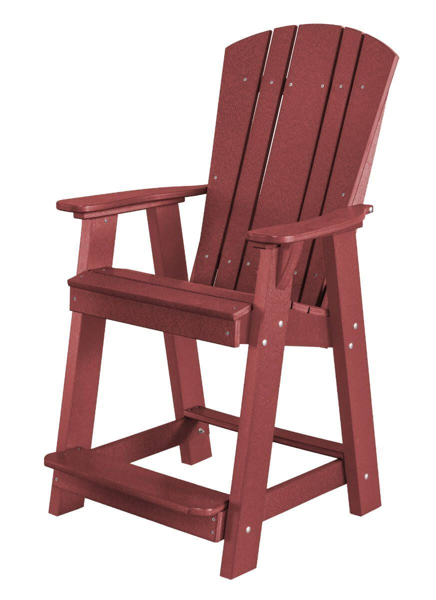 Cherry Wood Oristano Balcony Chair