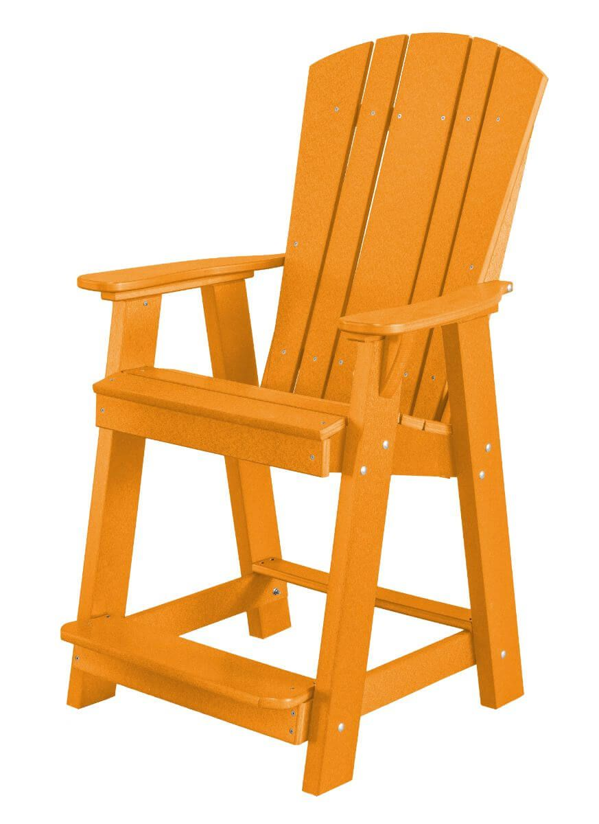 Orange Oristano Balcony Chair