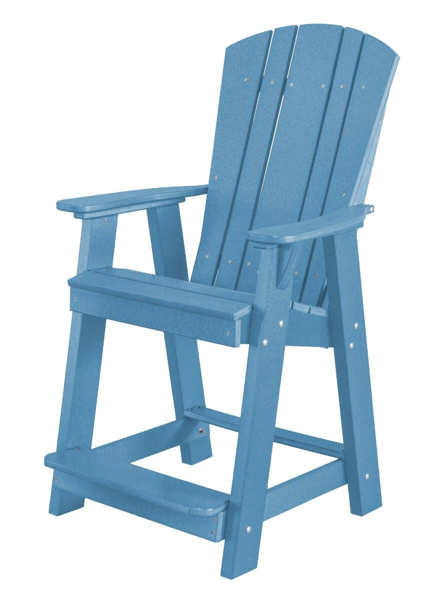 Powder Blue Oristano Balcony Chair