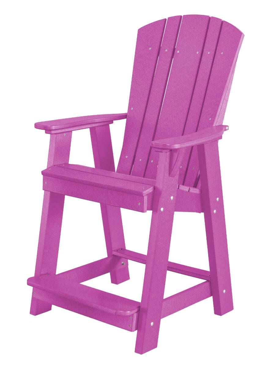 Purple Oristano Balcony Chair