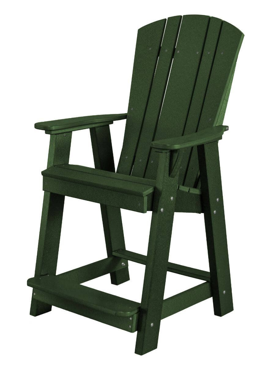 Turf Green Oristano Balcony Chair