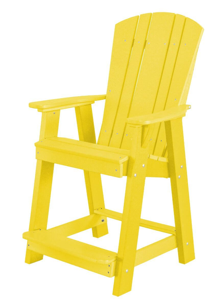 Yellow Oristano Balcony Chair