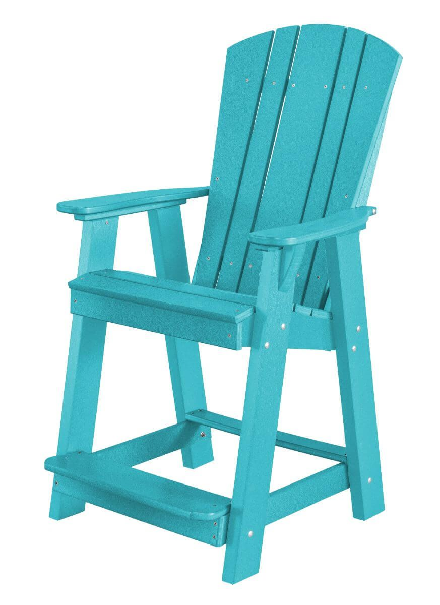 Aruba Blue Oristano Balcony Chair