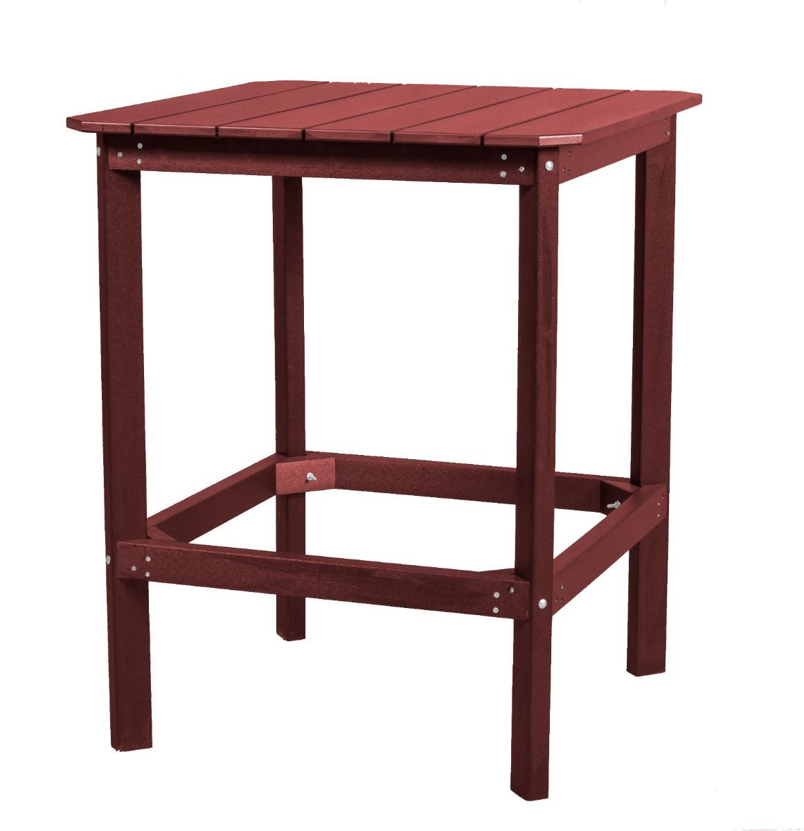 Cherry Wood Panama High Outdoor Dining Table