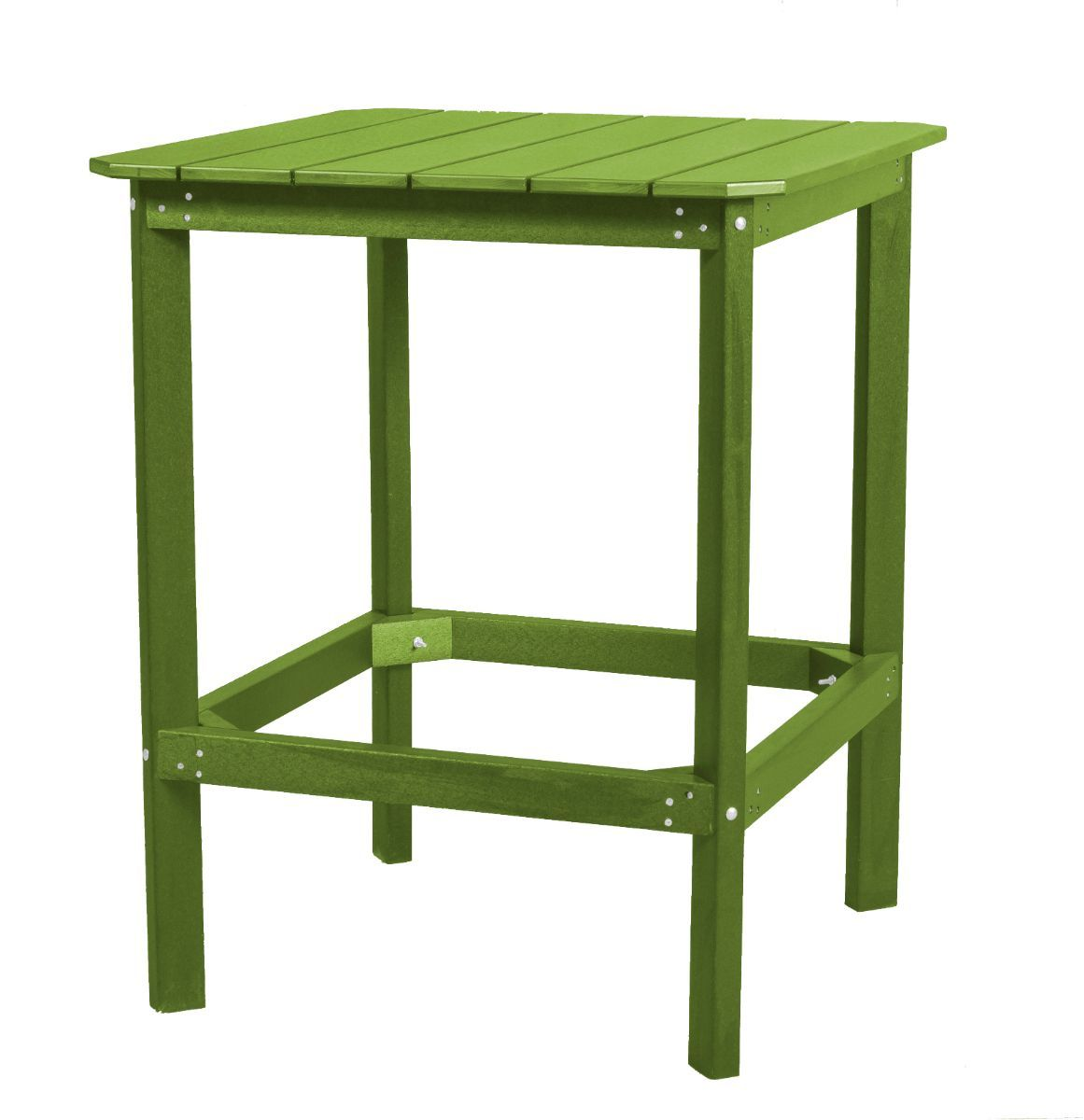 Lime Green Panama High Outdoor Dining Table