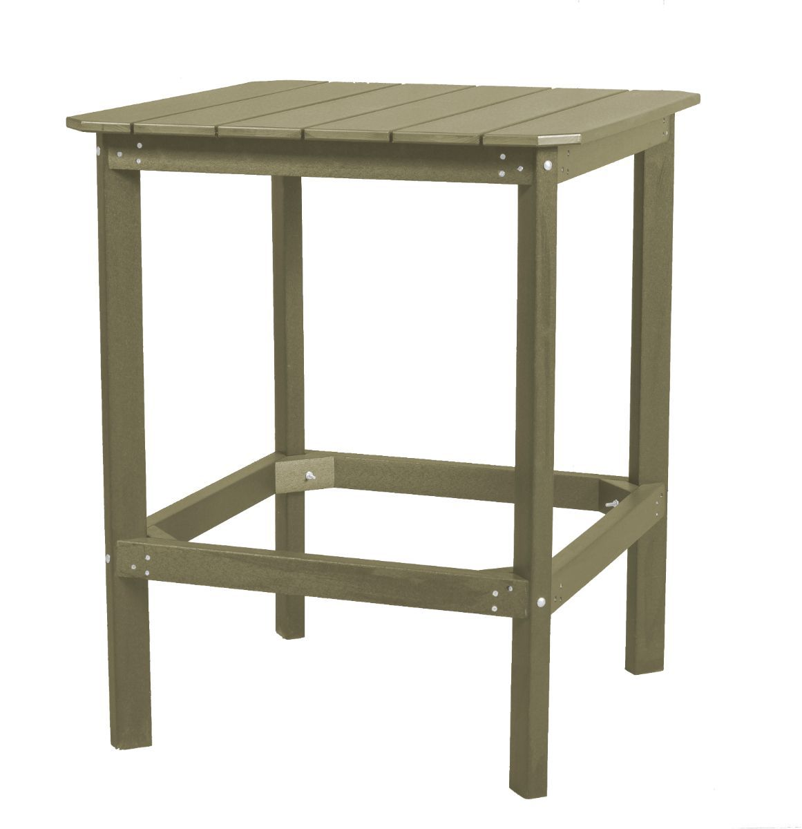 Olive Panama High Outdoor Dining Table