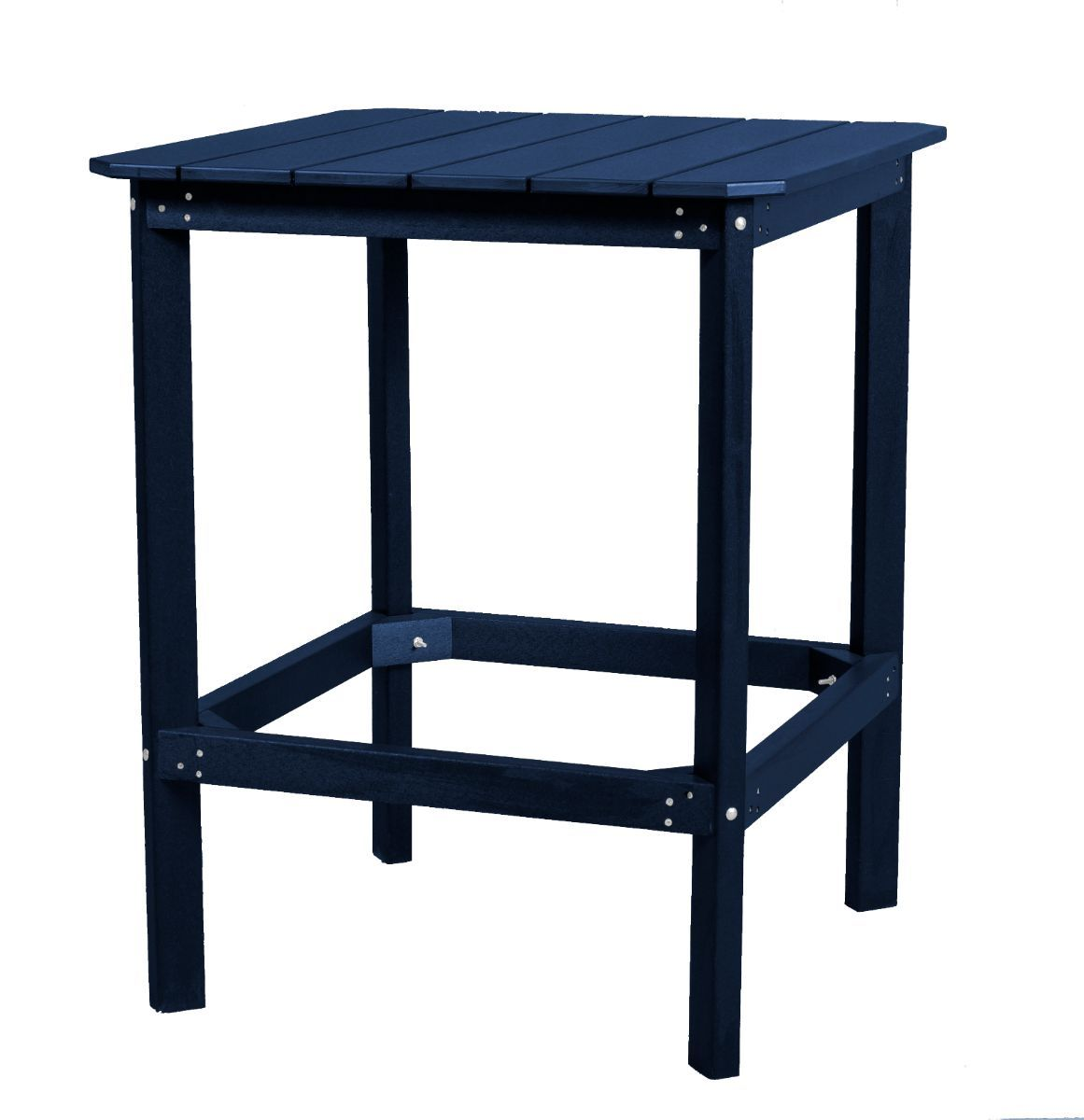 Patriot Blue Panama High Outdoor Dining Table