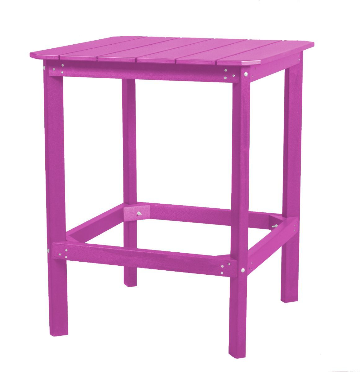 Purple Panama High Outdoor Dining Table