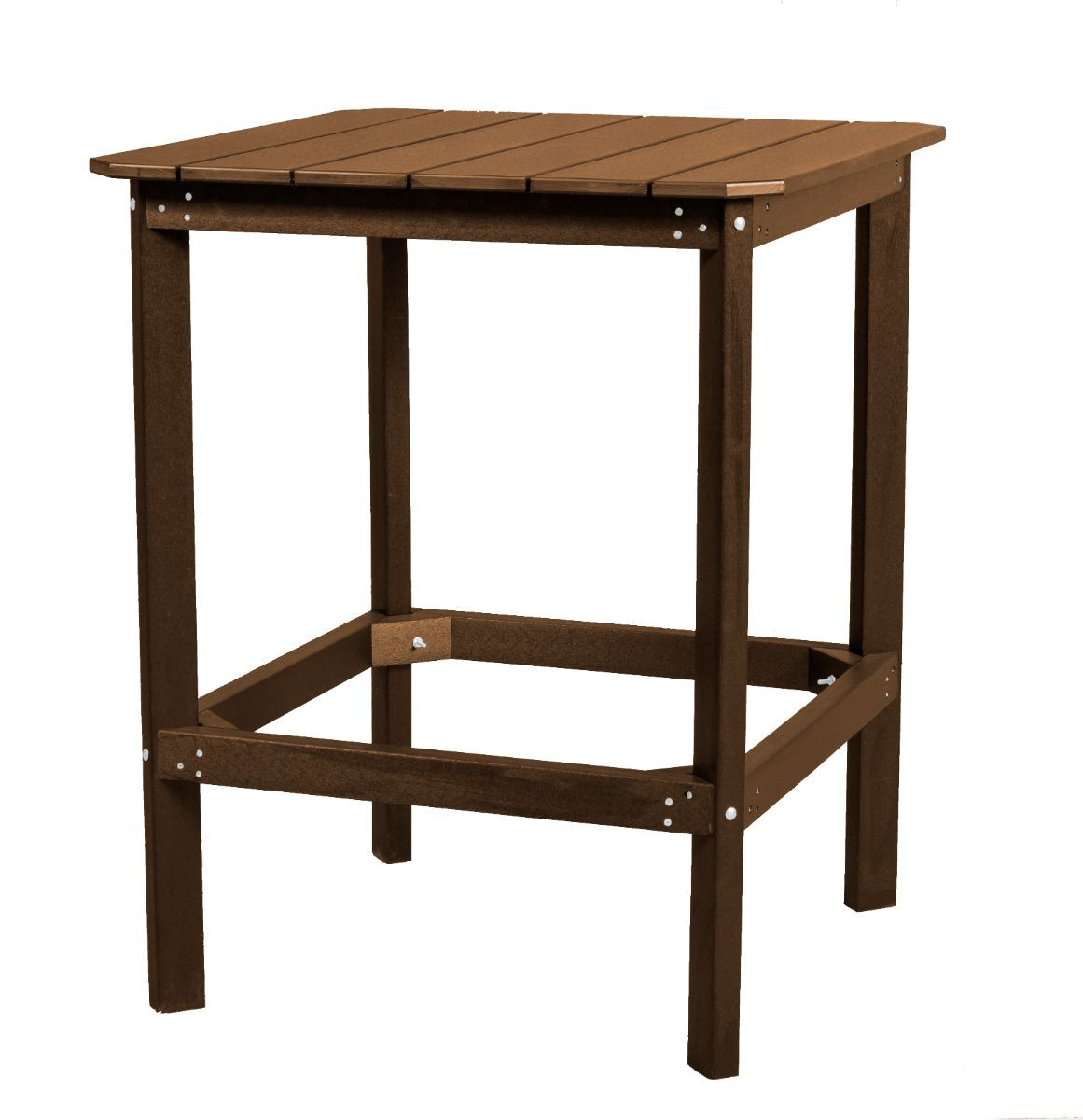 Tudor Brown Panama High Outdoor Dining Table
