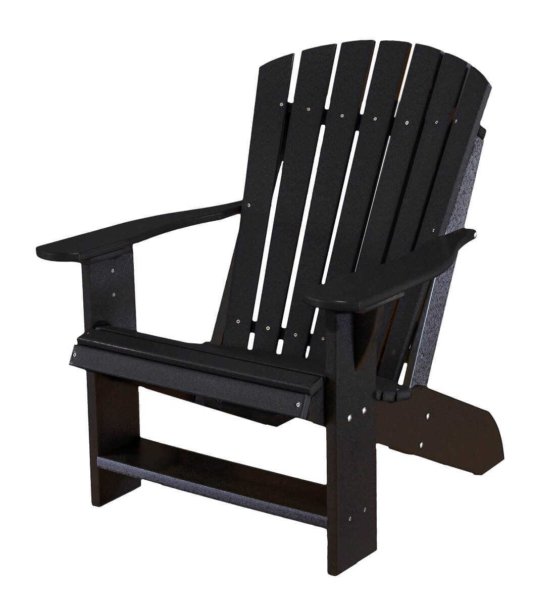 Black Sidra Adirondack Chair