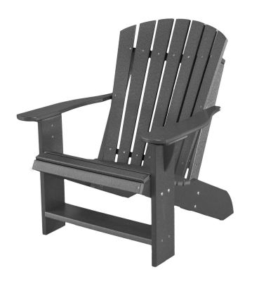 Dark Gray Sidra Adirondack Chair
