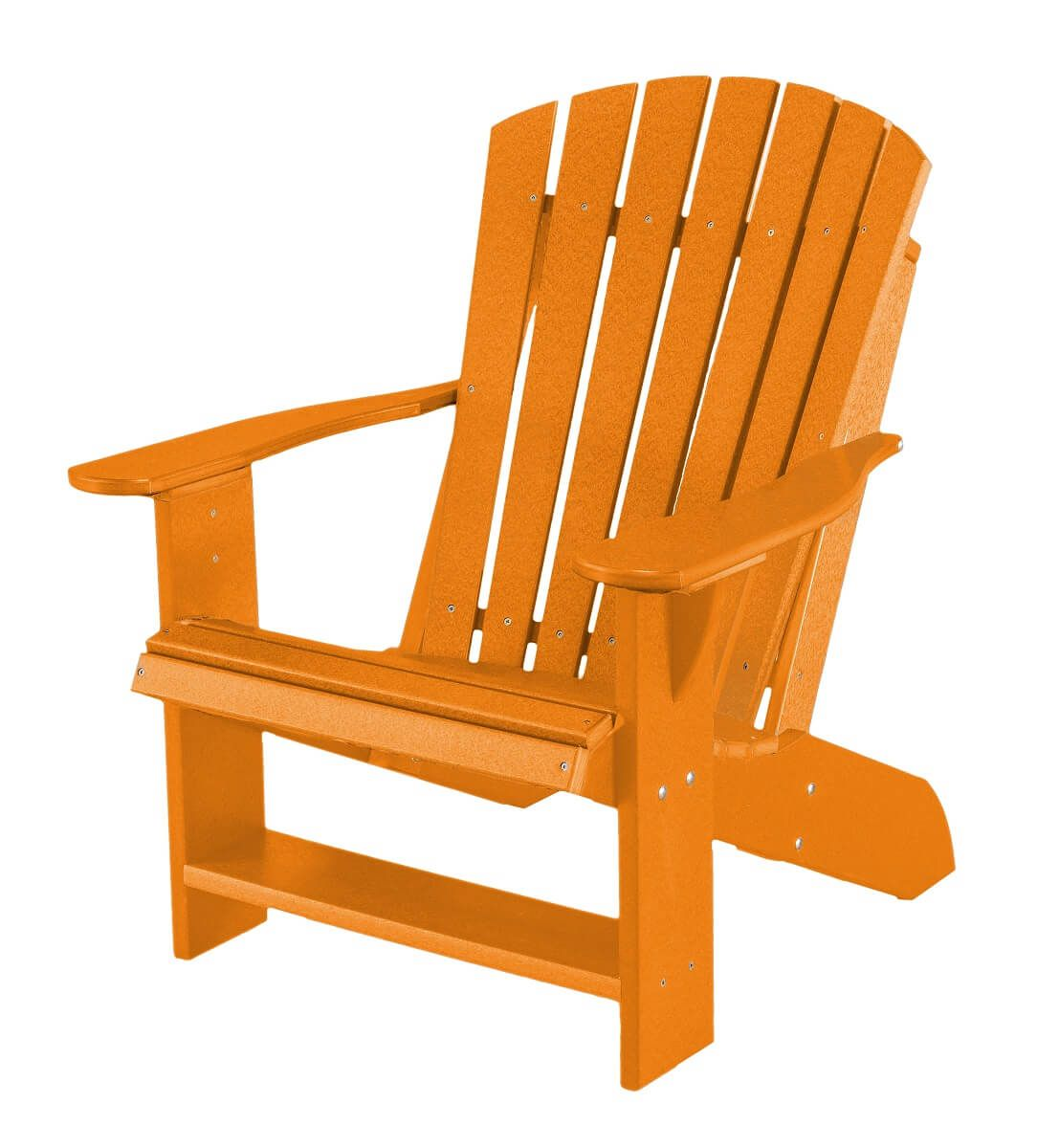 Bright Orange Sidra Adirondack Chair