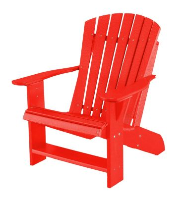 Bright Red Sidra Adirondack Chair