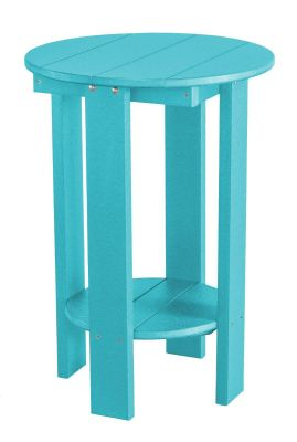 Aruba Blue Sidra Balcony Table