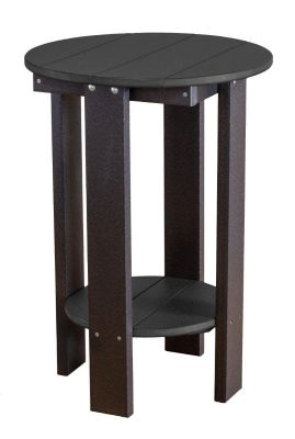 Black Sidra Balcony Table