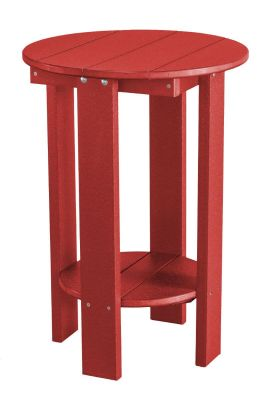 Cardinal Red Sidra Balcony Table
