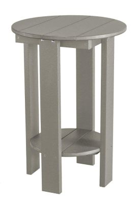 Light Gray Sidra Balcony Table