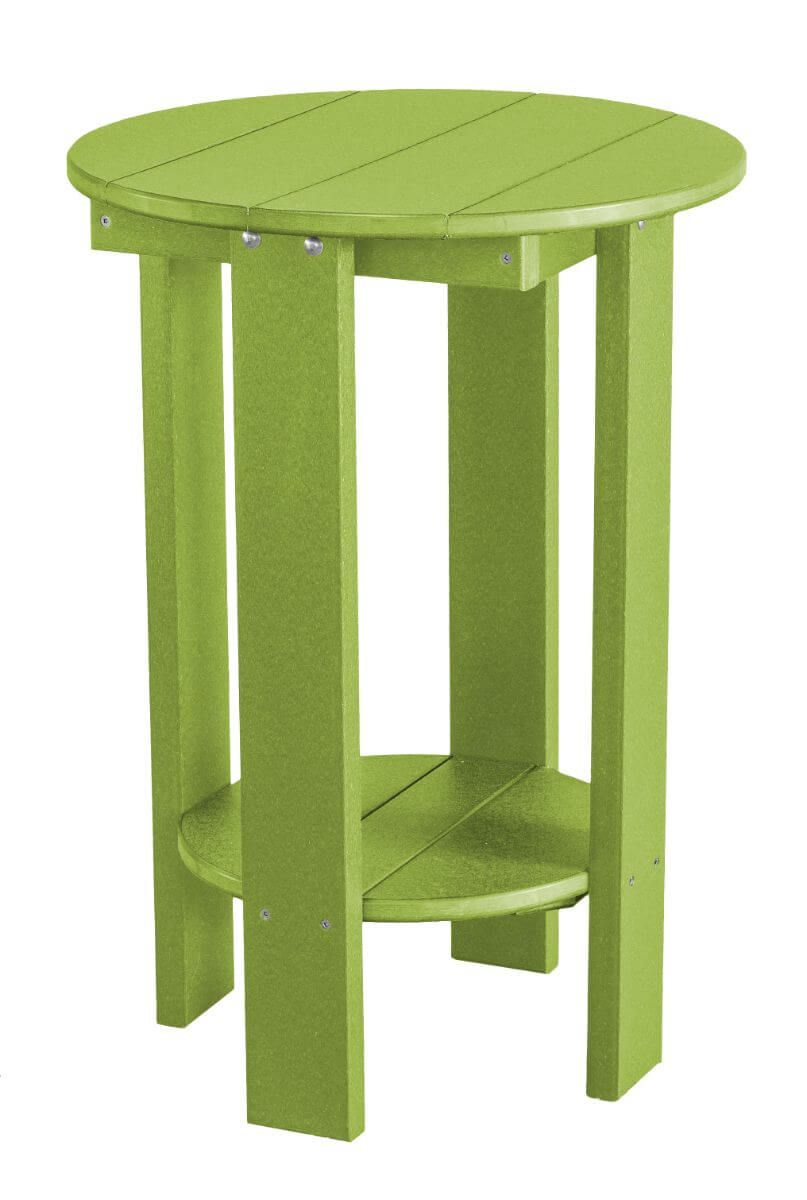 Lime Green Sidra Balcony Table