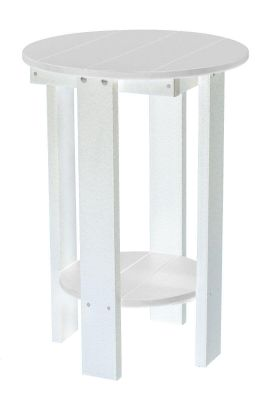 White Sidra Balcony Table