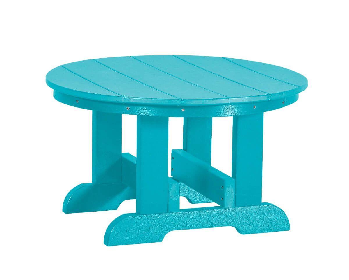 Aruba Blue Sidra Outdoor Conversation Table