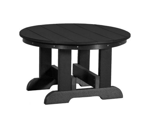 Black Sidra Outdoor Conversation Table