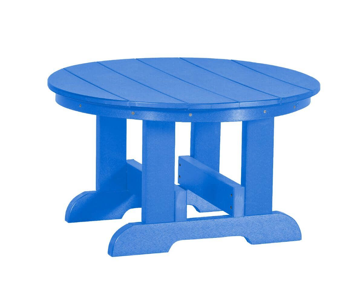 Blue Sidra Outdoor Conversation Table
