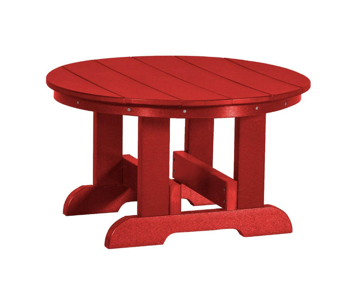 Cardinal Red Sidra Outdoor Conversation Table
