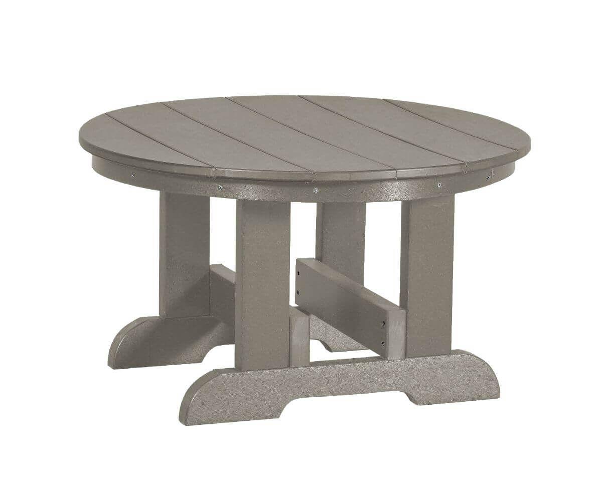 Light Gray Sidra Outdoor Conversation Table