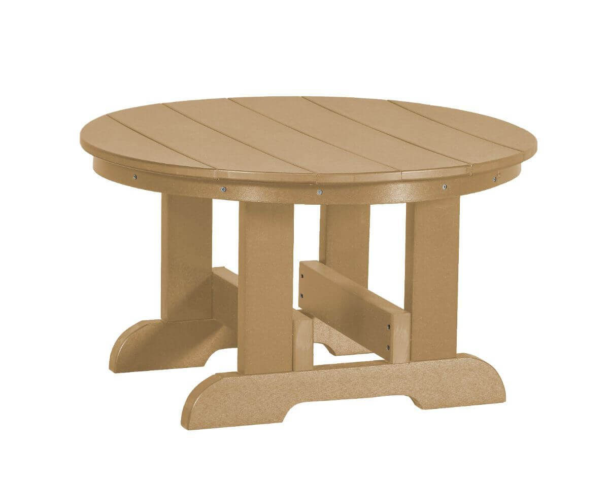 Weathered Wood Sidra Outdoor Conversation Table
