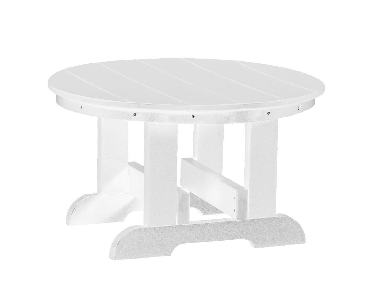 White Sidra Outdoor Conversation Table