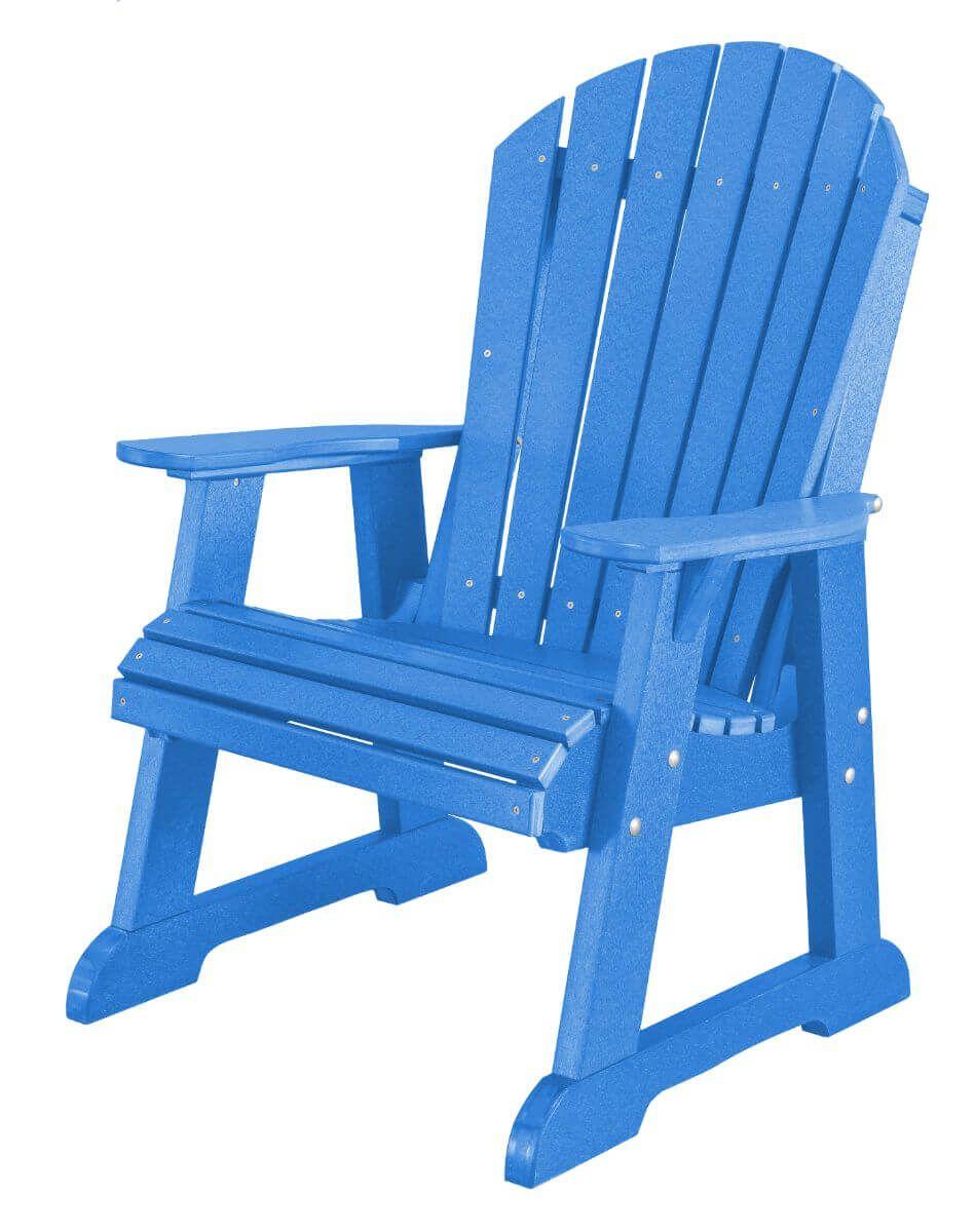 Blue Sidra Adirondack Dining Chair
