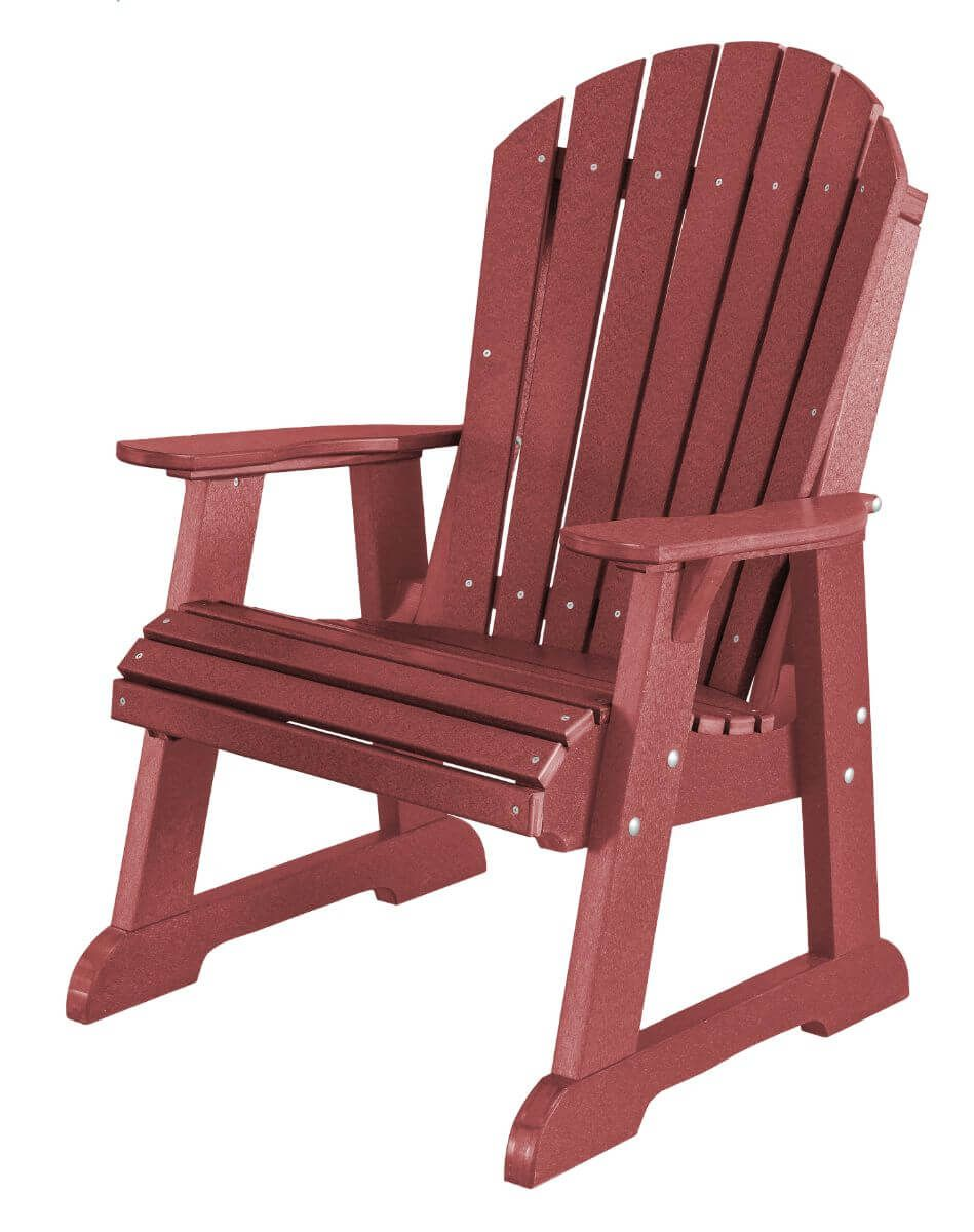 Cherry Wood Sidra Adirondack Dining Chair