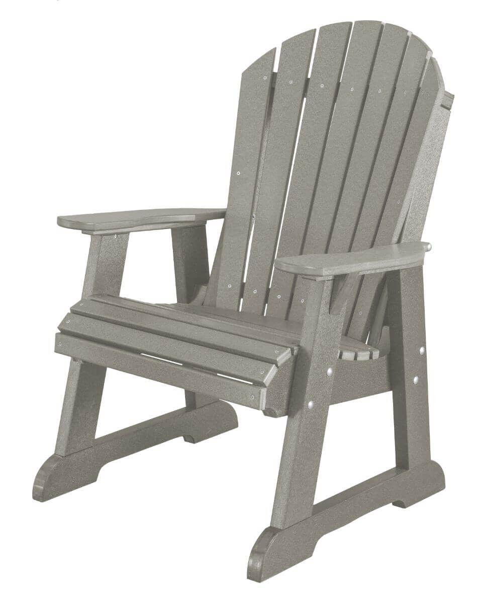 Light Gray Sidra Adirondack Dining Chair