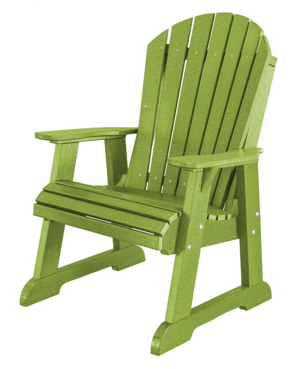 Lime Green Sidra Adirondack Dining Chair