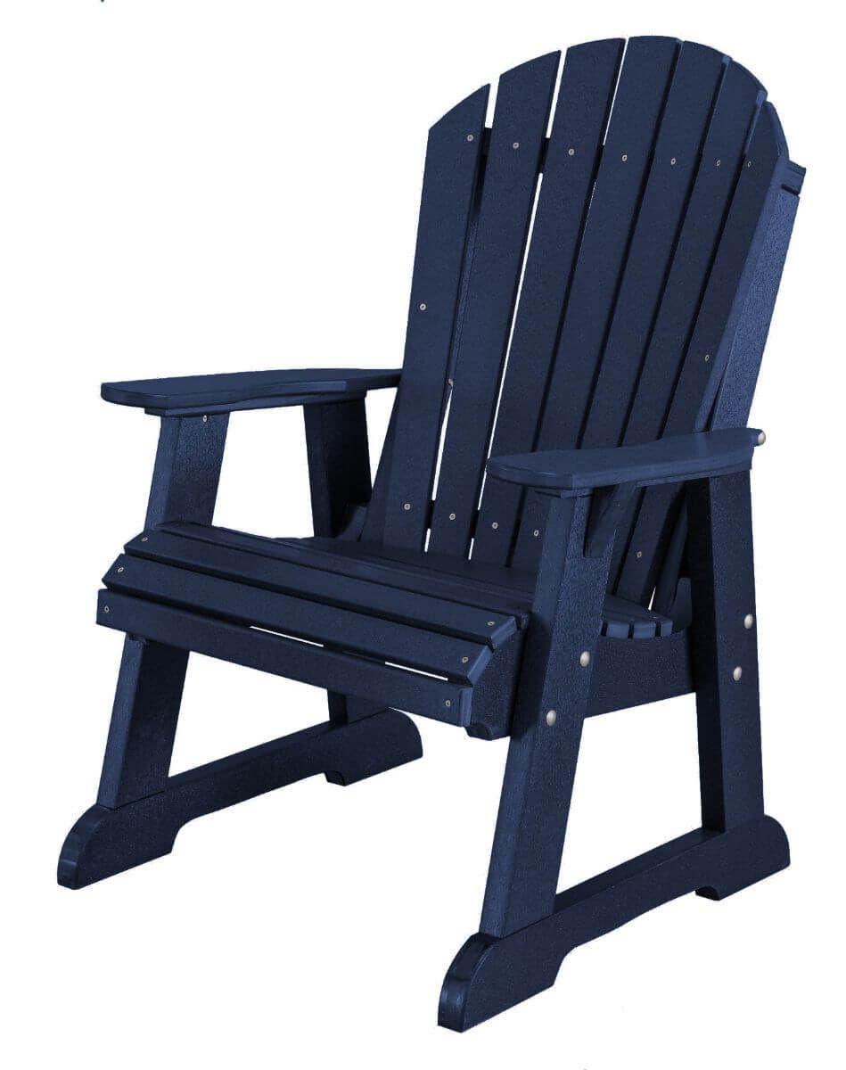 Patriot Blue Sidra Adirondack Dining Chair
