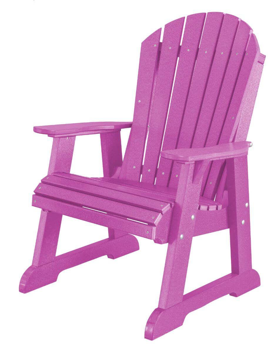Purple Sidra Adirondack Dining Chair