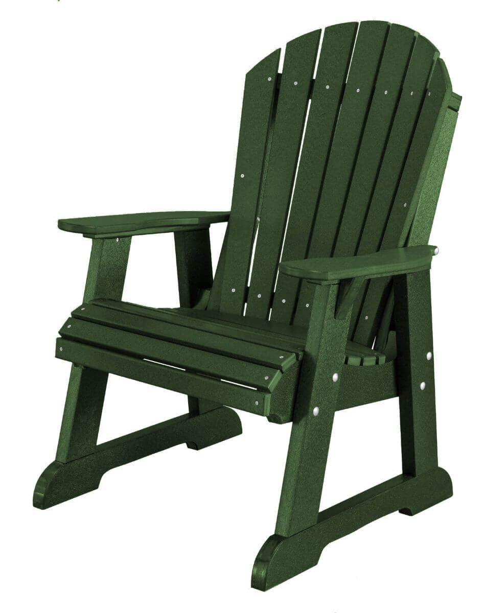 Turf Green Sidra Adirondack Dining Chair
