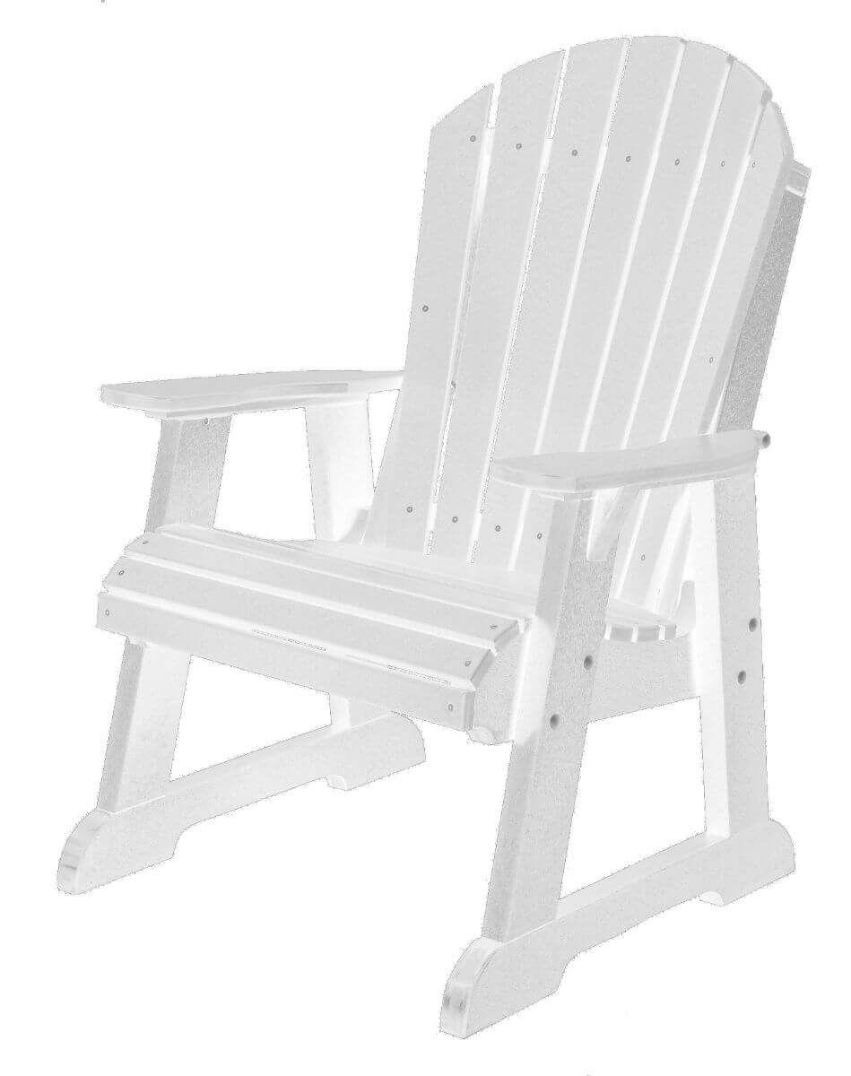 White Sidra Adirondack Dining Chair