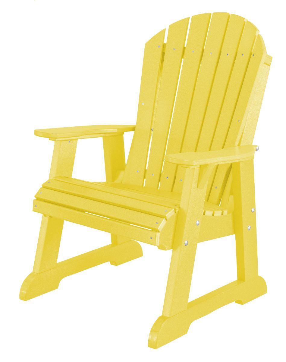 Lemon Yellow Sidra Adirondack Dining Chair