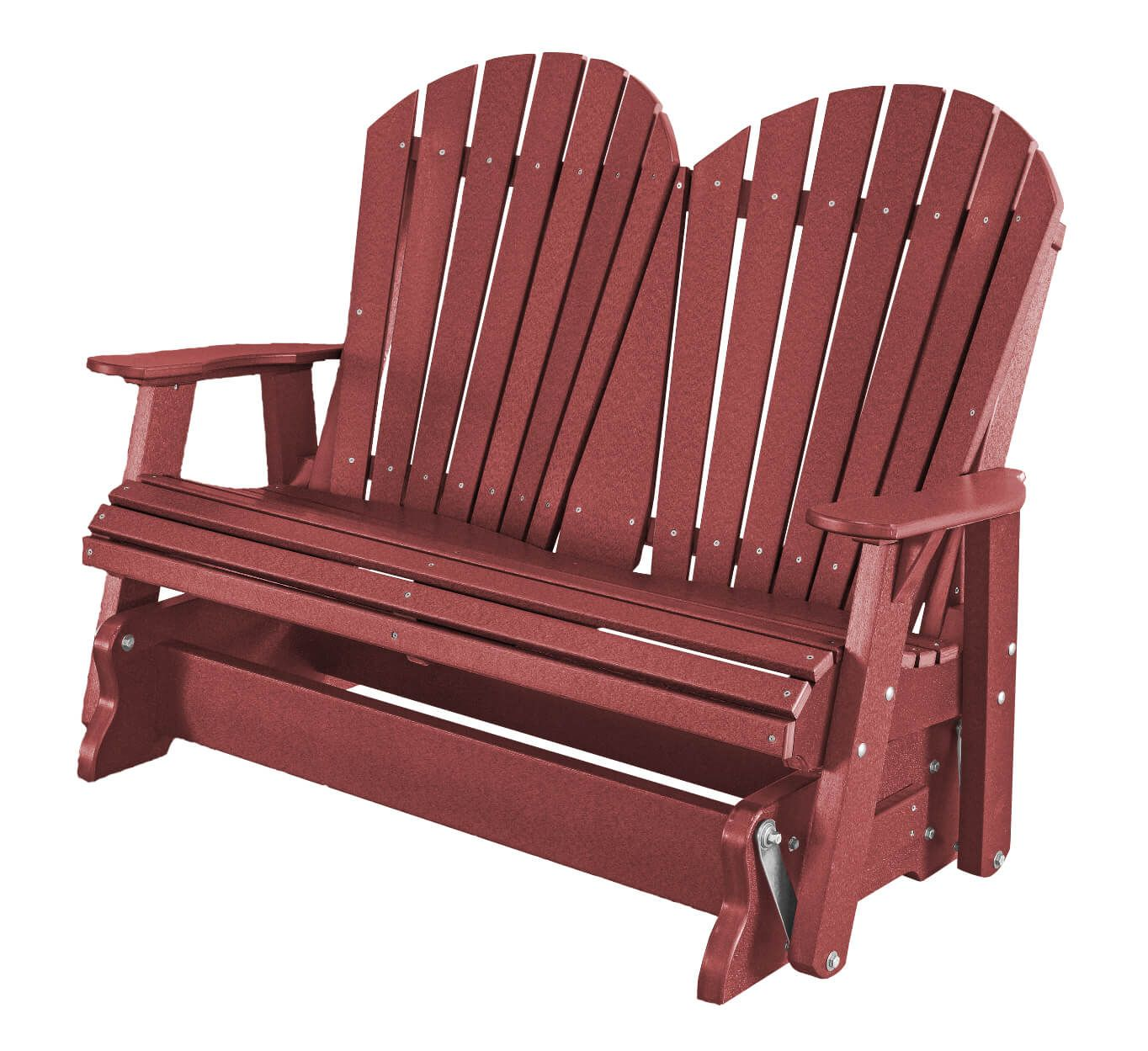 Cherry Wood Sidra Outdoor Double Glider