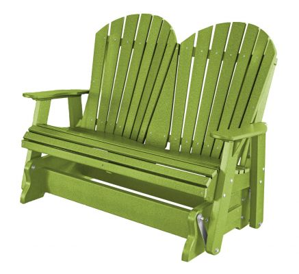 Lime Green Sidra Outdoor Double Glider