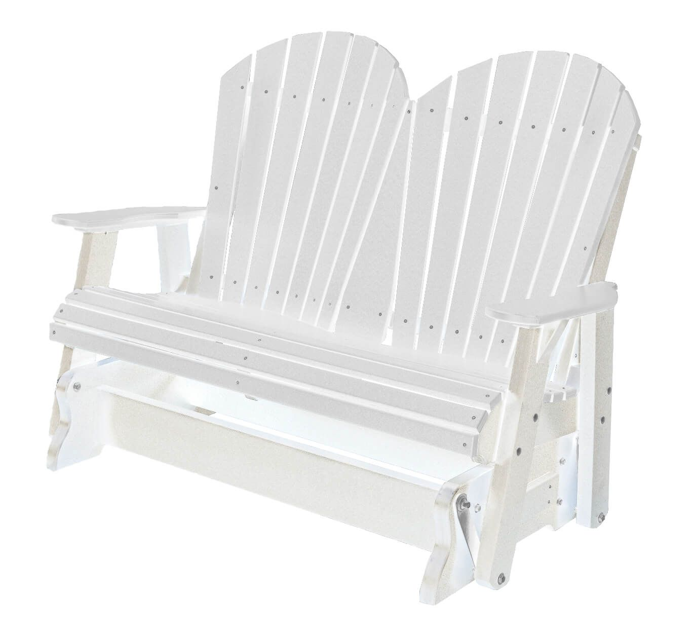 White Sidra Outdoor Double Glider
