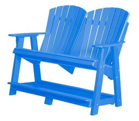 Blue Sidra Double High Adirondack