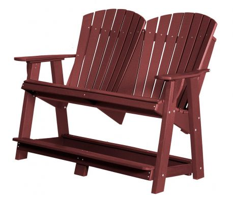 Cherry Wood Sidra Double High Adirondack