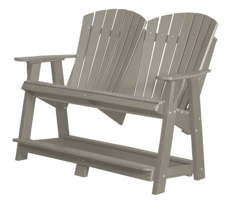 Light Gray Sidra Double High Adirondack
