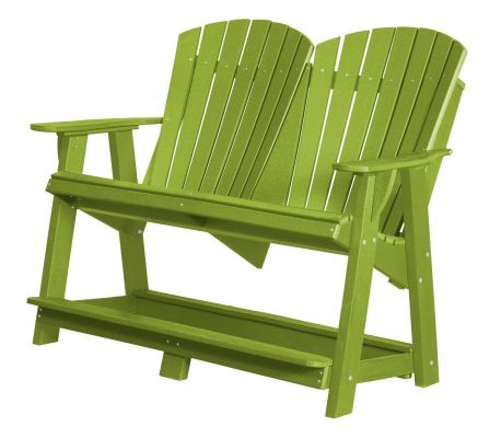 Lime Green Sidra Double High Adirondack