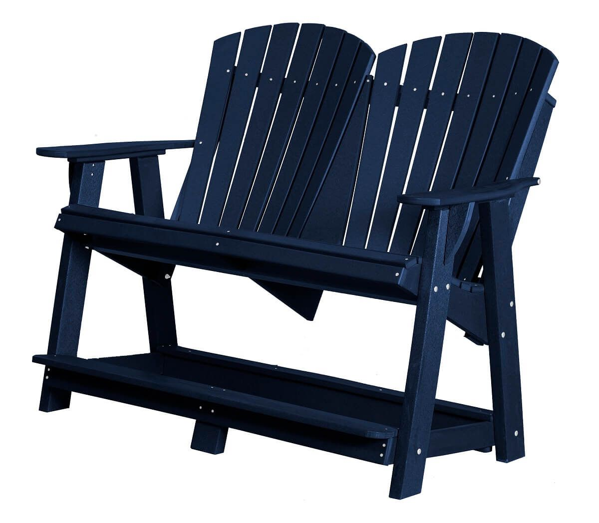 Patriot Blue Sidra Double High Adirondack