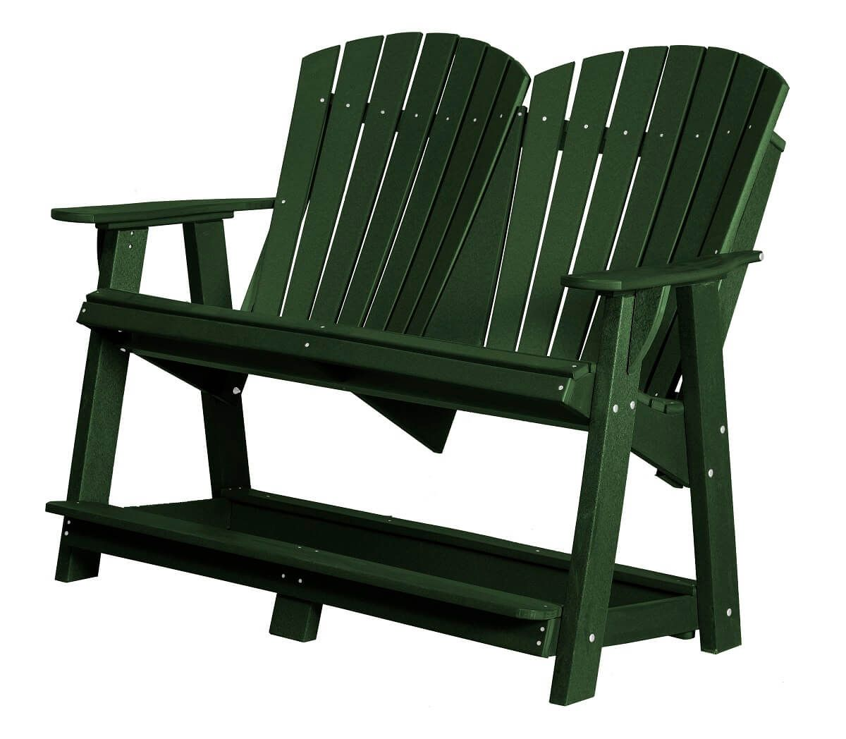 Turf Green Sidra Double High Adirondack