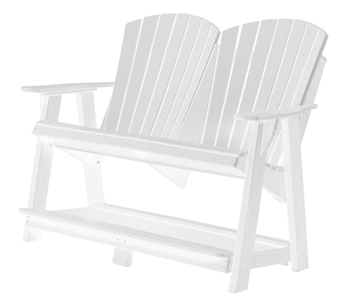 White Sidra Double High Adirondack